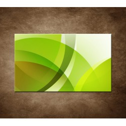 Zelená abstrakcia