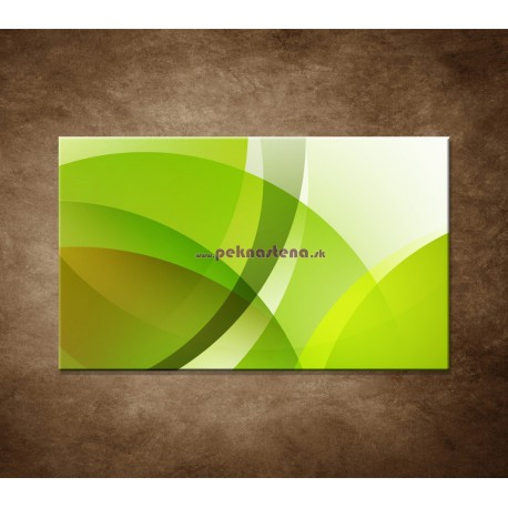 Obrazy na stenu - Zelená abstrakcia