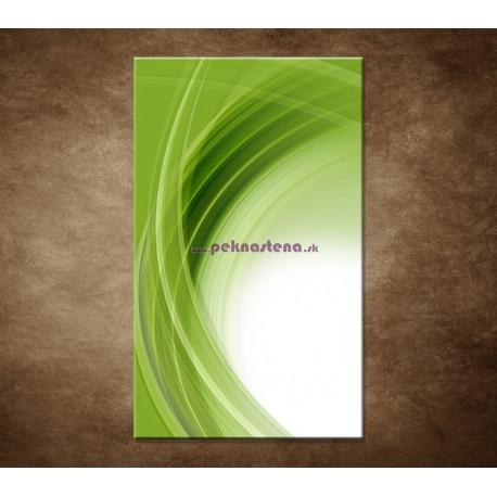 Obraz na stenu - Zelený polkruh