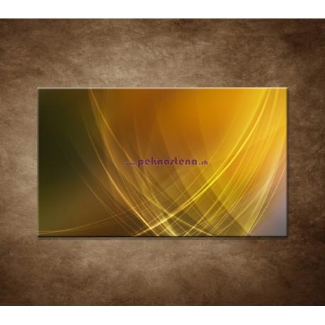 Obrazy na stenu - Žlto-oranžová abstrakcia