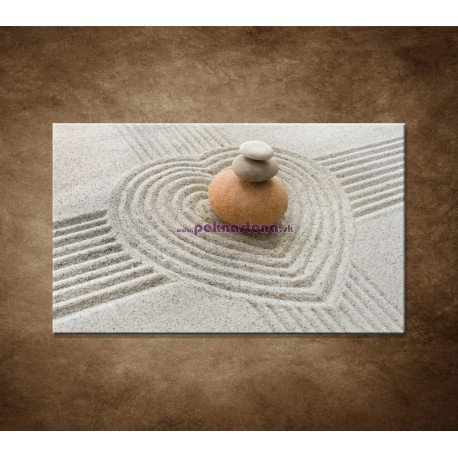 Obrazy na stenu - Kamene a piesok