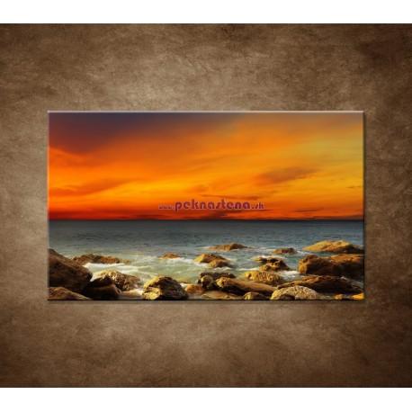 Obrazy na stenu - Červené zore