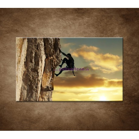 Obrazy na stenu - Horolezec
