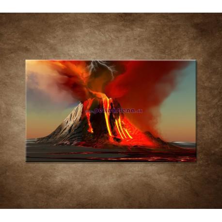 Obrazy na stenu - Sopka