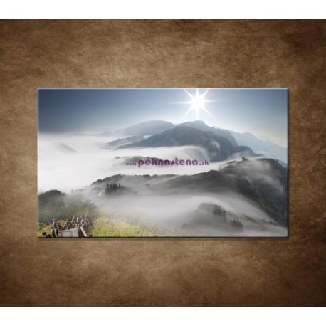 Obrazy na stenu - Mraky nad horami