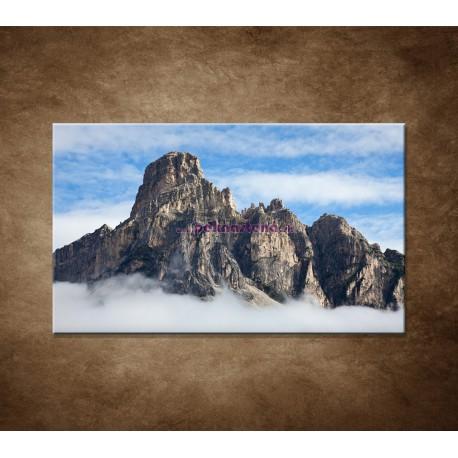 Obrazy na stenu - Mraky pod horami