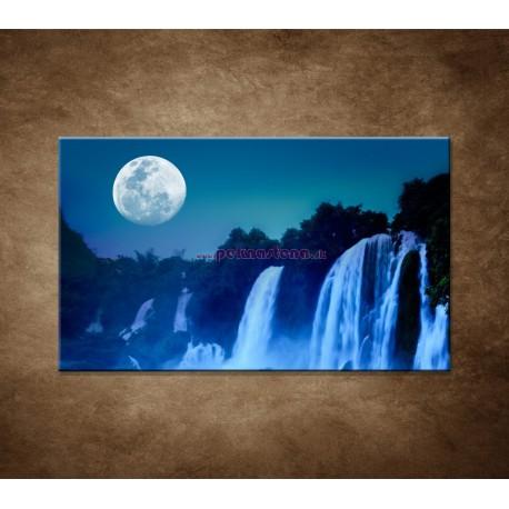 Obrazy na stenu - Nočné vodopády
