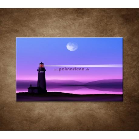 Obrazy na stenu - Nočný maják