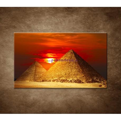 Obrazy na stenu - Pyramídy