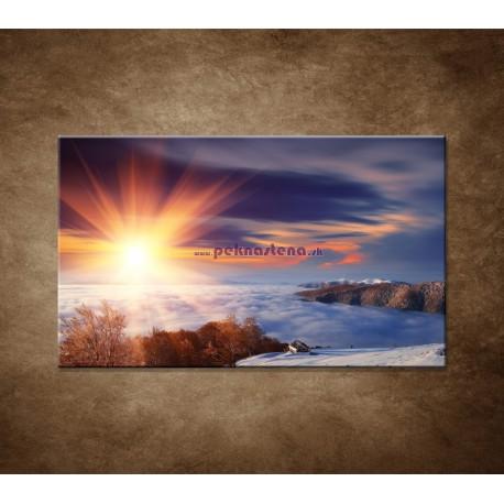 Obrazy na stenu - Slnko na horách