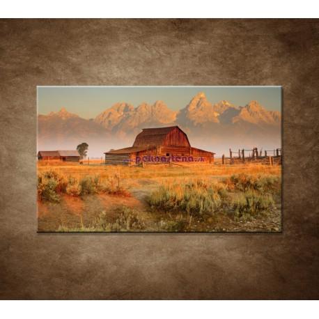 Obrazy na stenu - Stará stodola