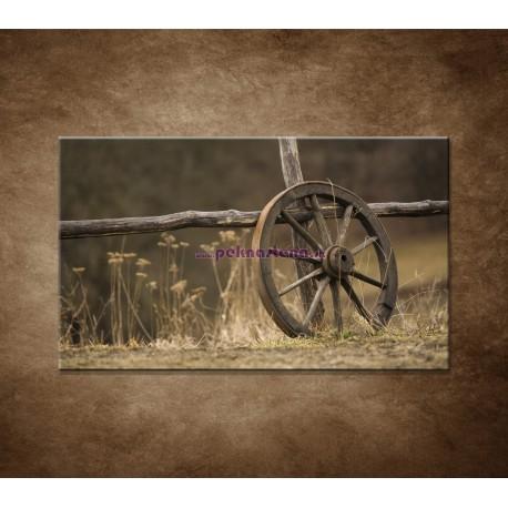 Obrazy na stenu - Staré koleso