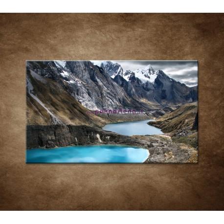Obrazy na stenu - Tri lagúny