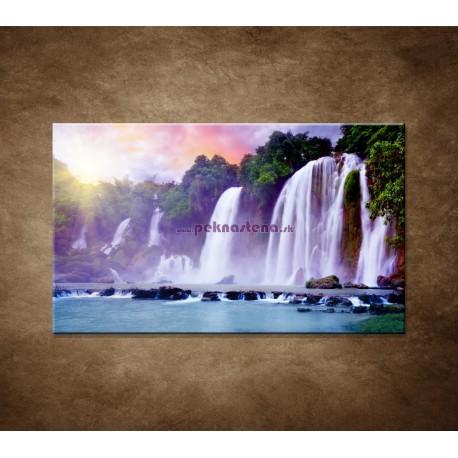 Obrazy na stenu - Vodopád