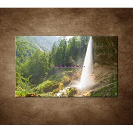 Obrazy na stenu - Vodopád v Alpách