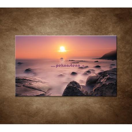 Obrazy na stenu - Východ slnka na pobreží