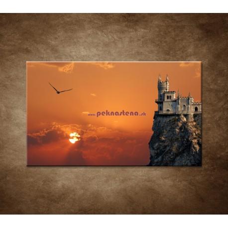 Obrazy na stenu - Zámok na skale