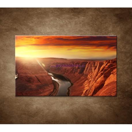 Obrazy na stenu - Západ slnka na horách
