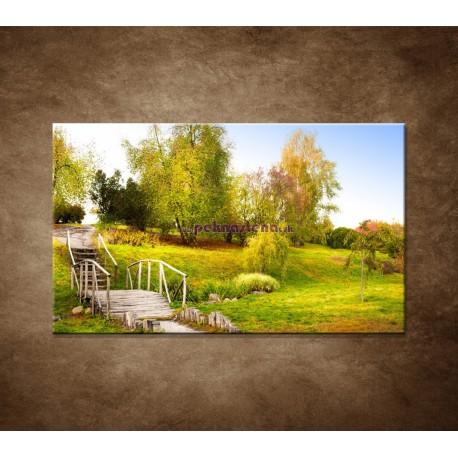 Obrazy na stenu - Zelený park
