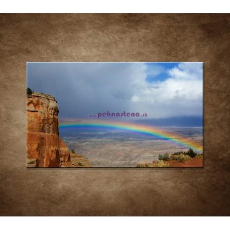 Obrazy na stenu - Dúha na horách
