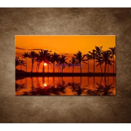 Obrazy na stenu - Červené zore nad morom