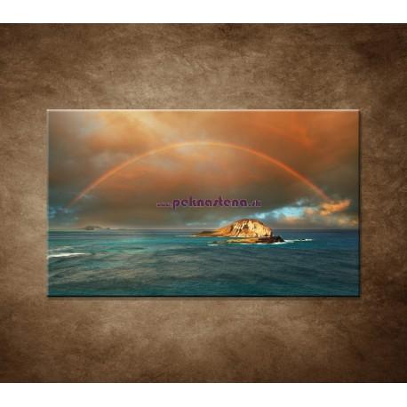 Obrazy na stenu - Dúha nad morom