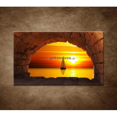 Obrazy na stenu - Plachetnica na mori