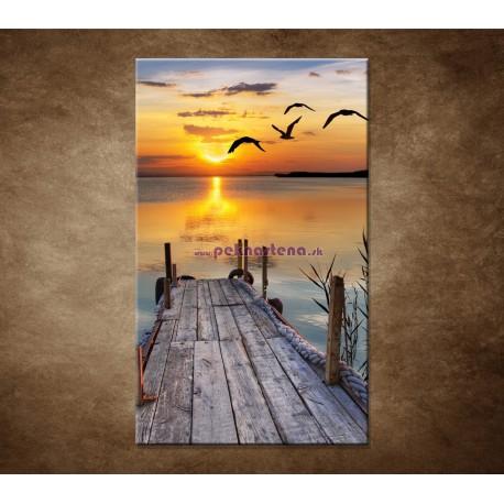 Obrazy na stenu - Západ slnka nad morom