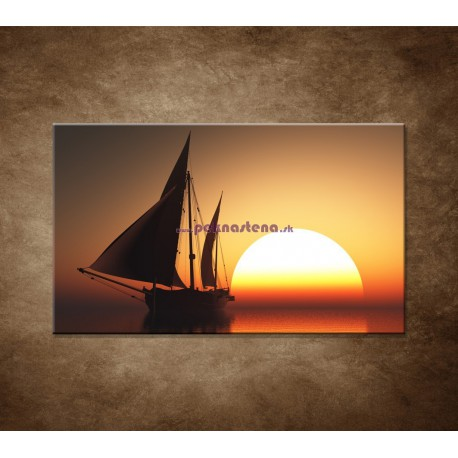 Obrazy na stenu - Západ slnka na mori
