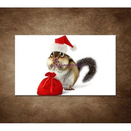 Obrazy na stenu - Malý Santa Claus