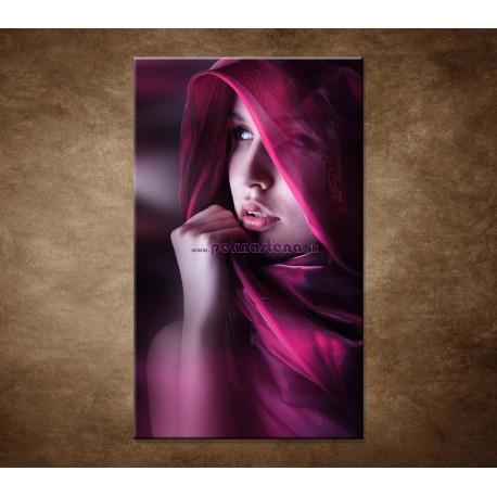 Obrazy na stenu - Žena so šatkou