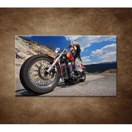 Obrazy na stenu - Motorkár