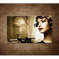 Obrazy na stenu - Žena s cigaretou