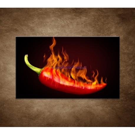 Obrazy na stenu - Pálivá paprička