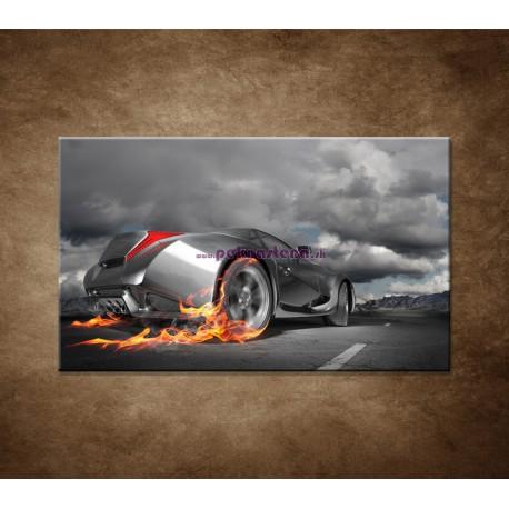 Obrazy na stenu - Rýchle auto