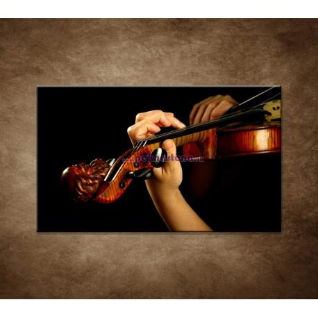 Obrazy na stenu - Hráč na husle