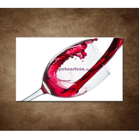 Obrazy na stenu - Červené víno