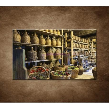 Obrazy na stenu - Stará vínna pivnica