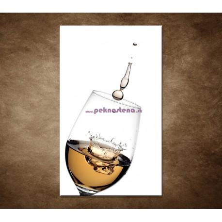 Obrazy na stenu - Biele víno