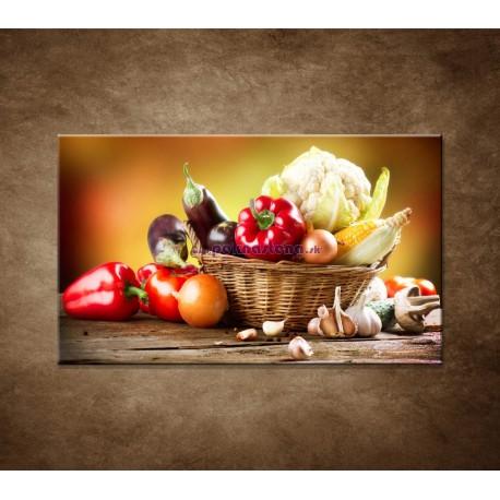 Obrazy na stenu - Zelenina
