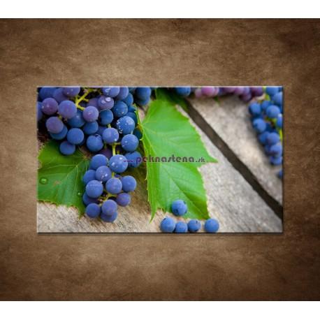 Obrazy na stenu - Modré hrozno
