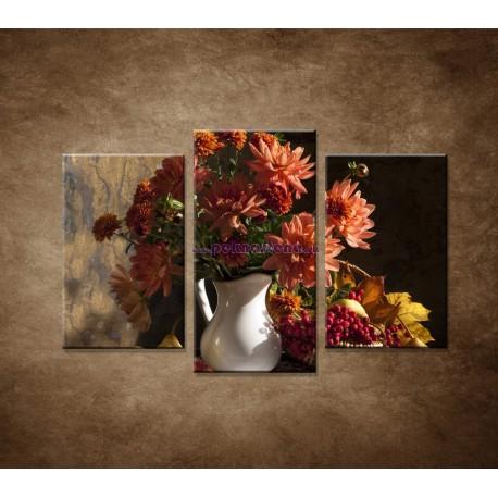 Obrazy na stenu - Kytica - 3dielny 75x50cm