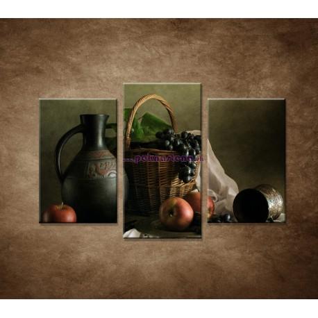 Obrazy na stenu - Zátišie - 3dielny 75x50cm