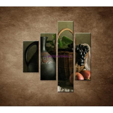 Obrazy na stenu - Zátišie - 4dielny 80x90cm