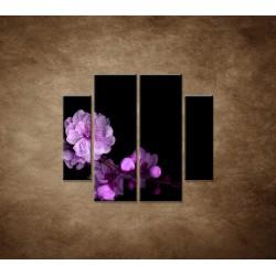Obrazy na stenu - Čerešňový kvet - 4dielny 100x90cm